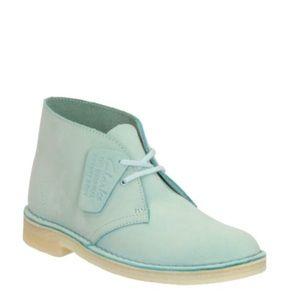Clarks Originals Light Blue Nubuck Desert Boots